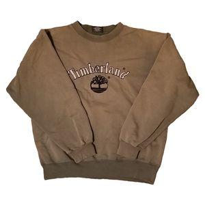 Vintage Distressed Timberland Sweatshirt Crewneck